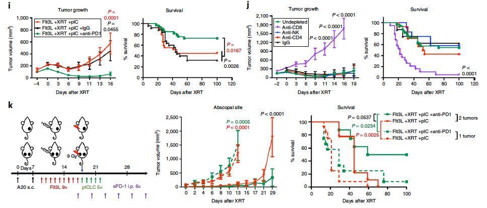 原位疫苗可致全身肿瘤消退,有望与PD-1阻断剂协同抗肿瘤
